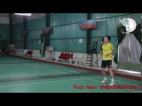 Ky Thuat Cau Long Co Ban VNBadminton Phat Cau & Do Phat Cau Hoang Hai Phuong Nam