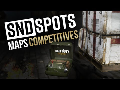 SPOTS BOMBES SND 💣maps compétitives (Call of Duty: WW2)