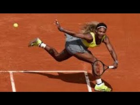SERENA WILLIAMS vs GARBINE MUGURUZA - French Open Highlights & Review (2014)