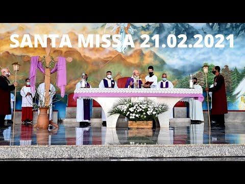 Santa Missa | 21.02.2021 | Domingo | Padre José Sometti | ANSPAZ