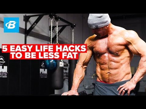 5 Easy Life Hacks To Be Less Fat | Mark Bell