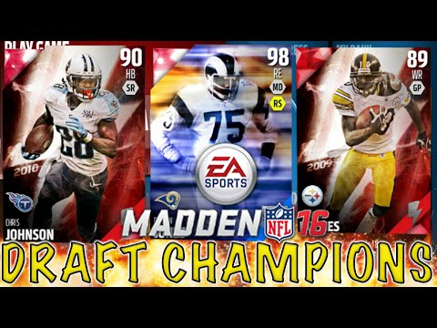 BEST All AROUND TEAM EVER?? - Madden 16 Draft Champions