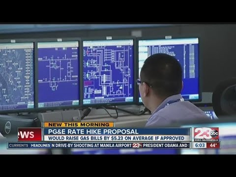 PG&E rate hike would raise gas bills by $5.23