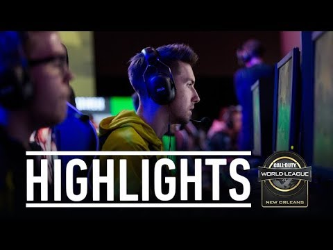 Highlights CWL NOLA (Call of Duty : WW2)