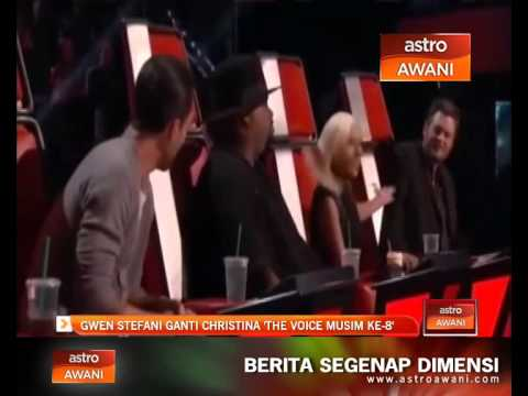 Gwen Stefani ganti Christina 'The Voice musim ke-8'