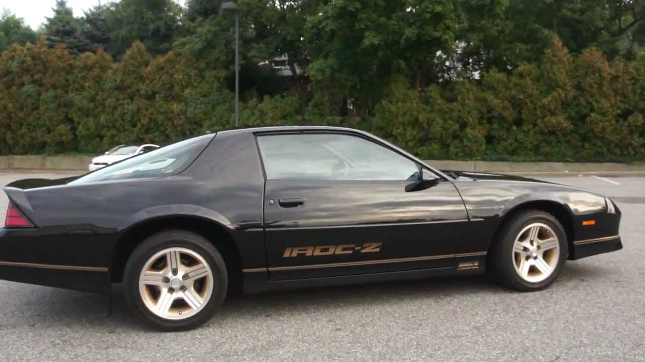 ~~SOLD~~1988 Chevrolet IROC-Z For Sale ~ 5.7L V8 ~ 71000 ...