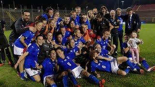 Italia-Svezia 1-0: il match visto dalla Vivo Azzurro Cam