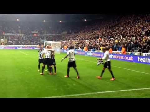 Newcastle United v Chelsea 2/11/13 goal & celebration by No14 Loic Remy. Match finished 2-0