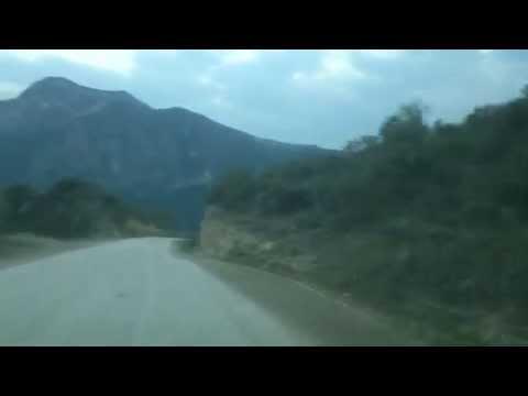 Bajada a las grutas de Tolantongo