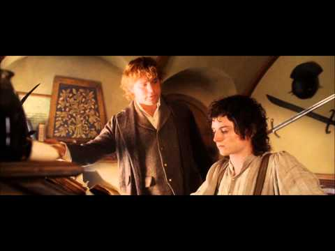 LOTR The Return of the King - The Journey to the Grey Havens