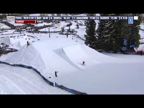 Winter X Games 2012: Kaya Turski's Gold Medal Run