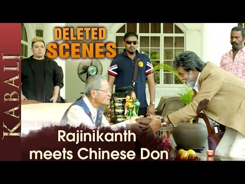 Rajinikanth Gets a Gun from Don Kabali Deleted Scenes Radhika Apte Pa Ranjith V Creations
