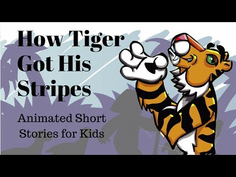 Image result for how tiger got his stripes