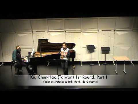 Ku, Chun-Hao (Taiwan) 1sr Round. Part 1.m4v