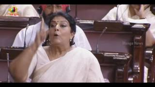 Renuka Chowdary Flays BJP Ministers For Obstructing AP Special Status Private Bill - Rajya Sabha