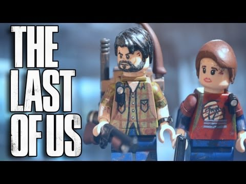 LEGO The Last of Us : Joel and Ellie - Showcase