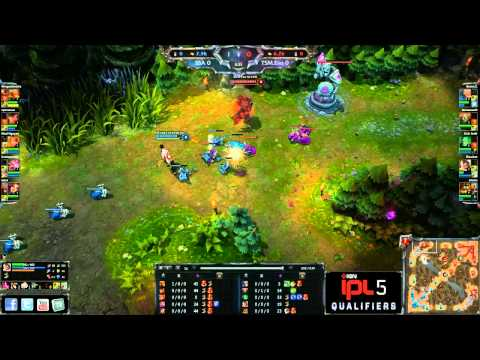 TSM Evo vs Super Special Awesome - Game 2 - IPL5 NA Open Regionals 2 - League of Legends