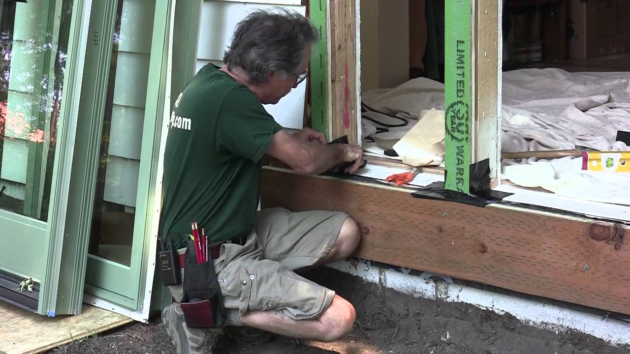 Installing Exterior Doors Windows Preparing The Sill YouTube