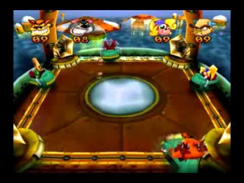 Crash Bash - Warp Room 2: Crystal Cave - 24) Beach Ball Lv. 3