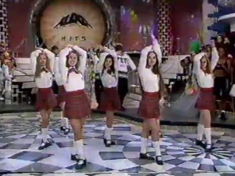 Paquitas New Generation dançando - Xuxa Hits 2/11/1996