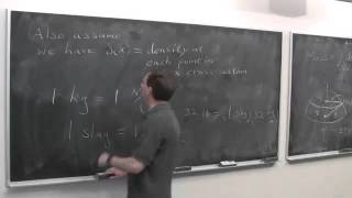 Worldwide Calculus: Mass and Density