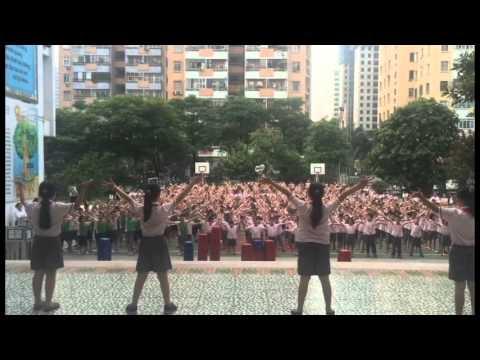 HanoiStar - Học sinh toàn trường nhảy bài