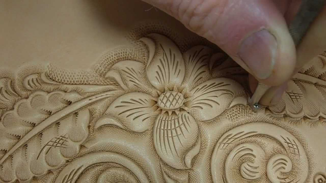 Tooling and carving leather youtube