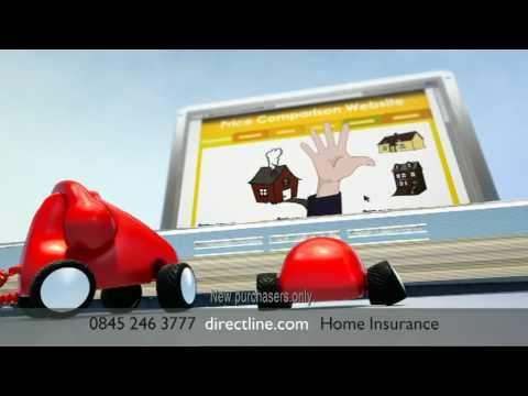 Direct Line Home Insurance New Tv Advert Featuring The