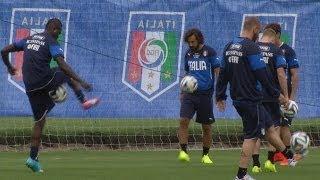 Numero di Balotelli in allenamento! - Mondiali 2014
