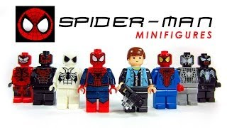 The Amazing Spider-Man LEGO KnockOff Minifigures Set 1