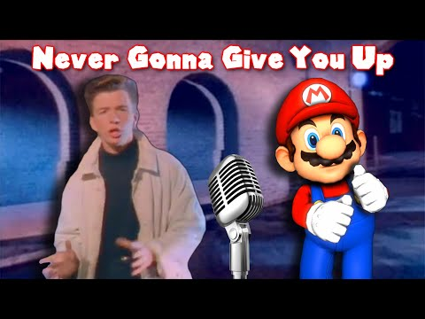 Never Gonna Mario You Up (Mario Rick Roll Music)