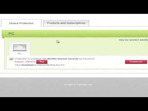 Como instalar el antivirus McAfee y conseguir una licencia válida para 6 meses de forma legal