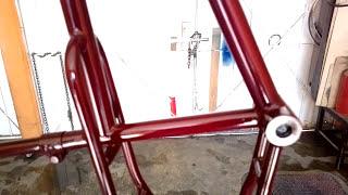 Pintar las bicicletas con spray