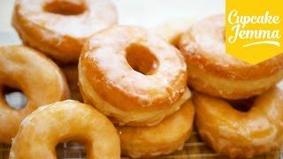 The Best Raised Doughnut Recipe EVER!   Cupcake Jemma