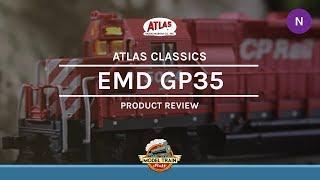 N Scale Atlas EMD GP35