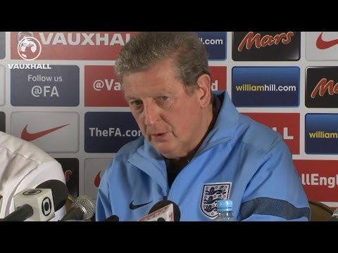 PREPARING FOR BRAZIL: Roy Hodgson and Steven Gerrard on World Cup squad