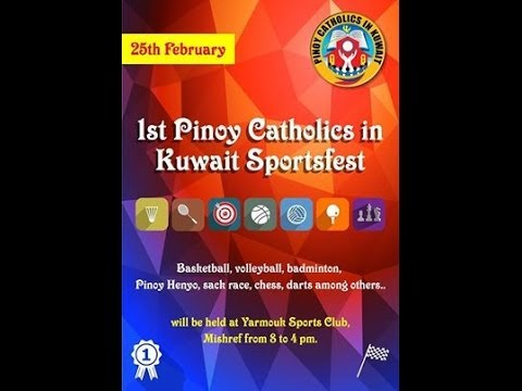 1st Pinoy Catholics in Kuwait Sportsfest - 25 February 2014