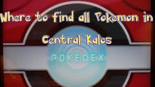 Pokemon X & Y Tutorial: Where To Find / How To Evolve All