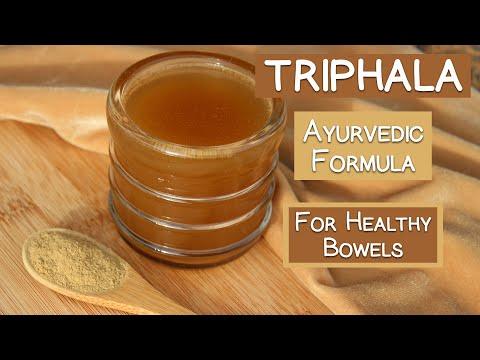 Triphala Powder, An Ayurvedic Formula for Healthy Bowels