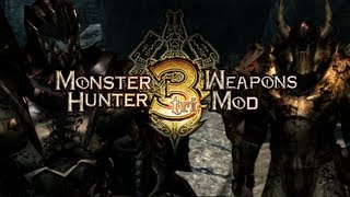 Skyrim Mods Monster Hunter Weapons, Armor And Enemies