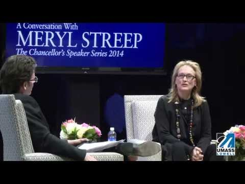 UMass Lowell: A Conversation with Meryl Streep Highlights (4:21)