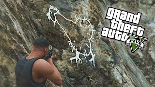 GTA 5 Easter Eggs New Mystery Chicken Drawing On Mount
