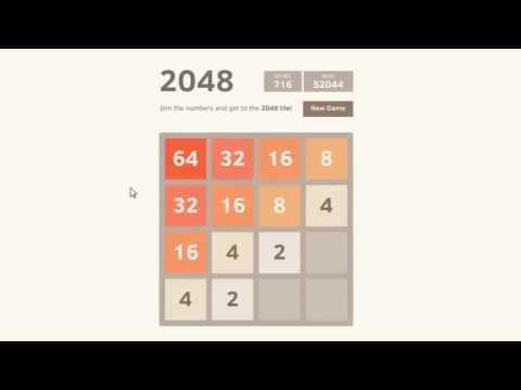 bitcoin2048   Как получить 8192 Tile   16384 плитка игры 2048 Stunt игры 2048