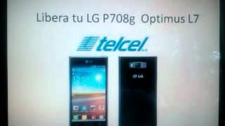 LG Optimus L7 P708g, Desbloquea, Libera Unlock, Unblock