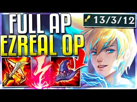 AP REWORKED EZREAL IS EVEN MORE OP NOW!!! Ezreal Rework AP Gameplay | League of Legends