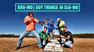 Exploding Eggs | Dude Perfect