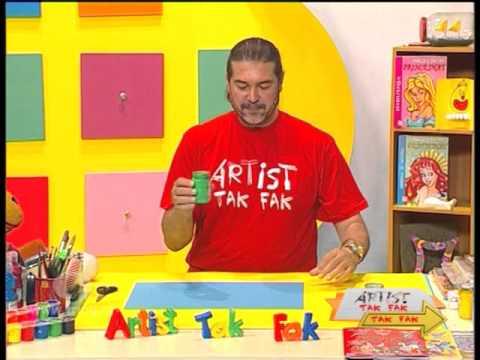 Artist Tak Fak  - Episodi 21//Piktura apstrakte me rrathe&Peisazhi ne fund te detit