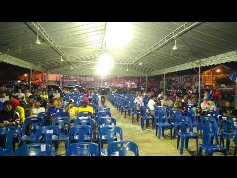 Over 10k at DAP ceramah, while BN sees empty chairs