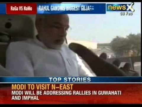 BJP's PM candidate Narendra Modi to address his first rally in Chennai - NewsX