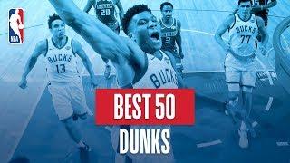 NBA's Best 50 Dunks   2018-19 NBA Regular Season